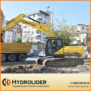 Экскаватор SH210LC-6 Sumitomo TSM GLOBAL